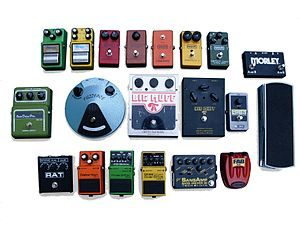 Effects Pedals and Devices